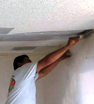 Acoustic Popcorn Ceiling Removal