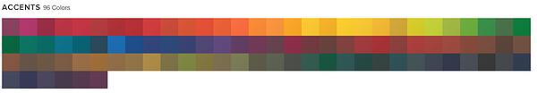 Accents 96 colors