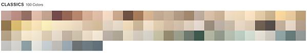 Classics 100 colors